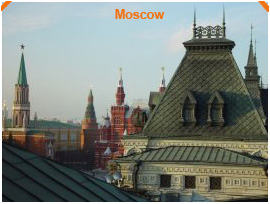 Objects in Moscow